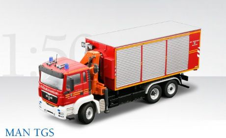 Conrad MAN TGS Fire Support Vehiclecle